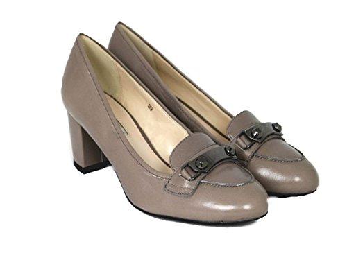 Luciano Barachini Décolleté Scarpe Shoe 1023H, beige (talpa), 36 EU
