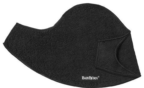 Babybjörn 031076 - Lätzchen für Tragesitz 2er-Pack, schwarz