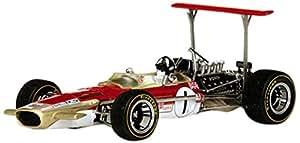 Quartzo - 27804 - Véhicule Miniature - Modèle À L'échelle - Lotus 49b - Winner Monaco Gp 1969 - Echelle 1/43