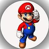 Fondant Tortenaufleger Tortenbild Geburtstag Super Mario P10