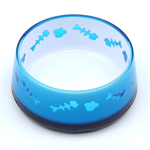 superdesign-acrylic-cat-bowl-with-fish-bone-pattern-non-skid-bottom-12-oz-blue-by-super-design