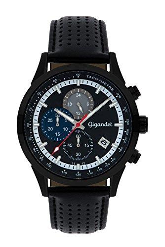 Gigandet Competition Men's Analogue Wrist Watch Quartz Chronograph Black G17-003