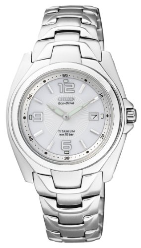 Citizen supertitanio eco drive ew0910-52b - orologio da polso donna