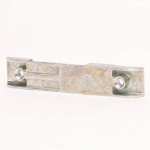 Bayram® SI Siegenia Schließblech A0420 420 0420 silber Kantenschließblech für Holzfenster