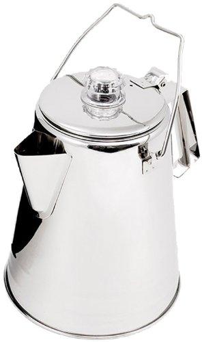 GSI Outdoors - Edelstahl-Perkolator 2,1 L