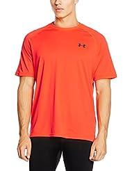 Under Armour Ua Tech Ss Tee Herren Fitness - T-shirts & Tanks, Orange (Bon/Cba/Ady), Gr. 2XL