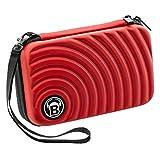 Bull's Orbis XL - Custodia per Freccette, Colore: Rosso