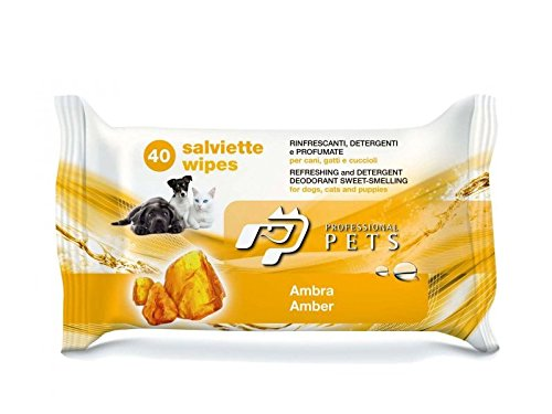 Salviette Professional Pets 40 pz - Salviettine