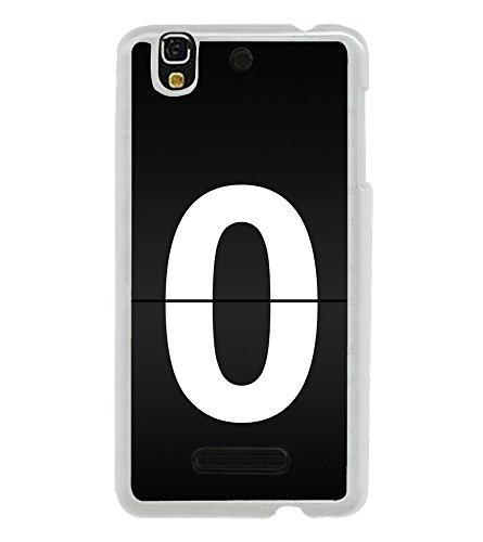 No 0 2D Hard Polycarbonate Designer Back Case Cover for YU Yureka :: YU Yureka AO5510