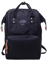 LuckES Color Sólido Bolso mochilas mujer Moda mochila bolso mujer Mochila de viaje Mochila escolar Mochilas de señoras Mujer Bolsos totes mujers