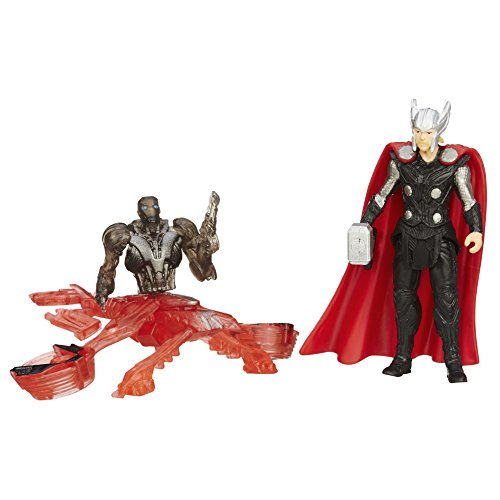 Marvel Avengers Age of Ultron Thor vs Sub-Ultron 005 Action Figure Confezione