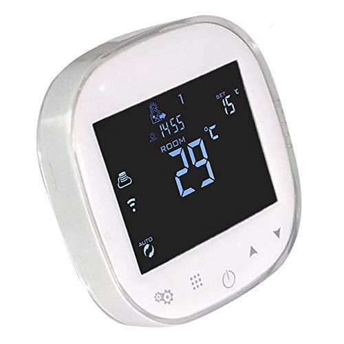 Zenshin WiFi Kessel Thermostat programmierbarer LCD-Raum Temperatur-Controller, kostenlose APP! Fernbedienung per Smartphone Werke mit Amazon Alexa Voice Control Heizung & Hot Water ElectricWarming