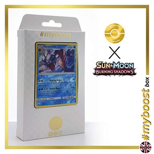 3/147 Wendbare Holo #myboost X Sun & Moon 3 Burning Shadows - Box mit 10 Englische Pokémon-Karten ()