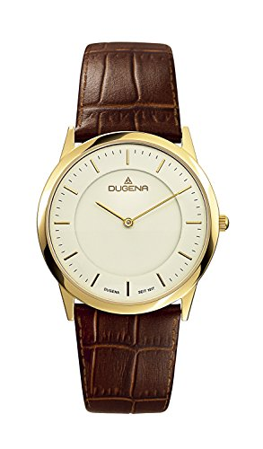 Dugena Classic Gents Watch Quartz Watch With Leather Strap  4460346