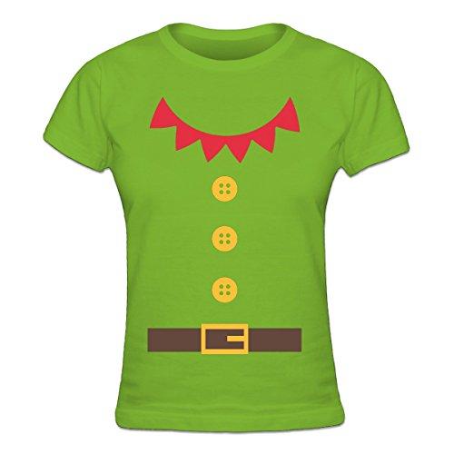 Shirtcity Santas Little Helper Costum Frauen T-Shirt by