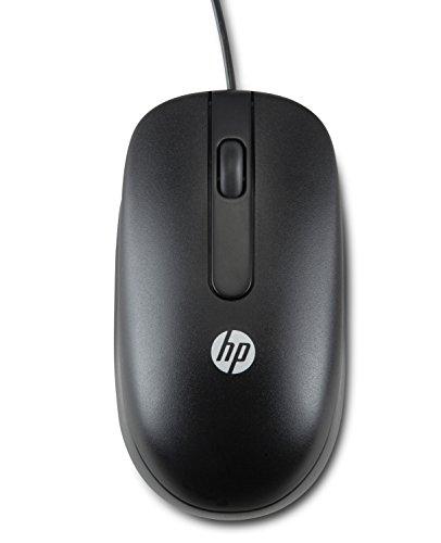 HP QY778A6 Laser USB 2-Button Maus, 100 Stück, schwarz -