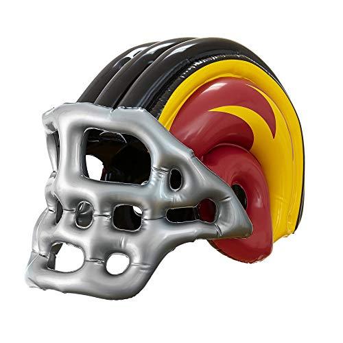 WIDMANN 04833 - Aufblasbarer Amerikanischer Football Helm, für Erwachsene, ()