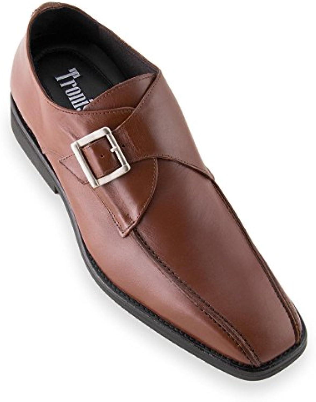 Masaltos Zapatos de Hombre con Alzas Que Aumentan Altura Hasta 7 cm. Fabricados EN Piel. Modelo Venecia