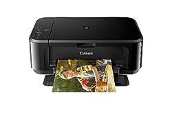 Canon Pixma MG3670 All-in-One Inkjet Printer (Black)