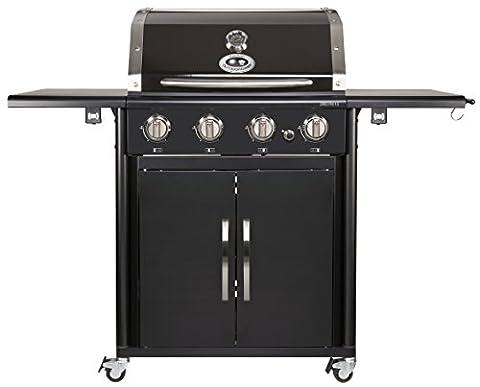Outdoorchef CANBERRA 4G schwarz BBQ Gasgrill Grillstation 4 Brenner