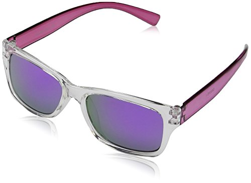 Dice Unisex Kinder Sonnenbrille, Shiny Crystal Purple, One size, D03370-1