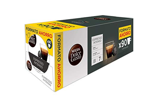 Nescafé Dolce Gusto Magnum Espresso Intenso - Cápsulas de Café 3 x 30 - 90 Cápsulas 720 g