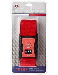 Tommy Hilfiger Red Luggage Strap (TH/TSA04A22)