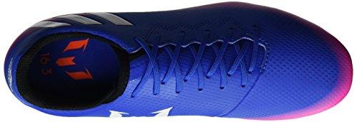 adidas Messi 16.3 Fg J, Chaussures de Football Entrainement garçon Multicolore (Blue/Ftwr White/Solar Orange)