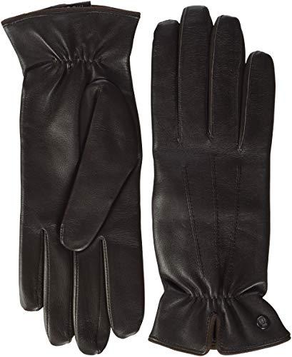 Roeckl Damen Klassiker gerafft Handschuhe, Braun (Coffee 780), 7.5 (Herstellergröße: 7, 5)
