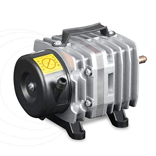 fengwen66 220 V 38L / Min Aquarium Luftpumpe Elektromagnetische Luftkompressor Sauerstoffpumpe (Silber)