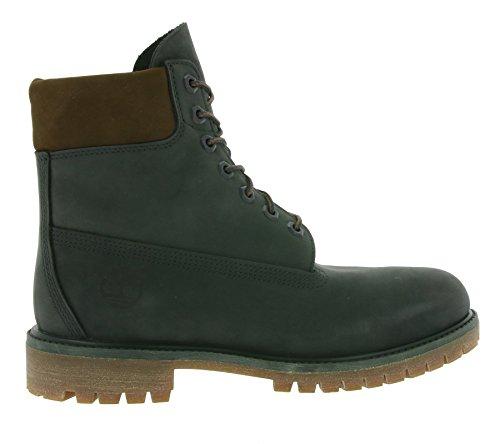 Timberland 6 Inch Premium Boots (6609A) medium green nubuk