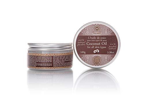 Kokosöl für die Haut- und Körper-pflege, Körperöl Feuchtigkeitspflege, alle Hauttypen, Vegan, 100% Bio, Handmade, Kokos