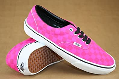 Vans  Era, Baskets mode pour homme Rose (Xtuff) Neon Pink/Check 41.5 (UK 8)