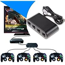 SLB Works Brand New GameCube Controller Adapter Converter For Nintendo Wii U SUPER SMASH BROS GC USB