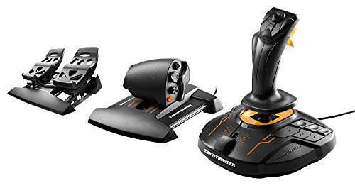 Thrustmaster T16000M FCS Flight Pack (Hotas System inkl. Pedale, T.A.R.G.E.T Software, PC) - Pc-software