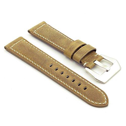 dassari-salvage-bande-pour-montre-classique-en-cuir-pour-panerai-beige-26-24-26mm