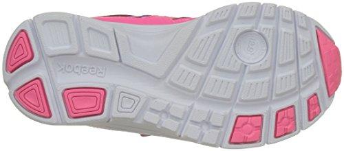 Reebok Run Supreme 2.0 2v, chaussures de course garçon Multicolore (Peppy Pink/solar Pink/aubergine/white)