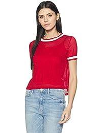 Lee Cooper Women s Plain Regular Fit T-Shirt 4f533b32df94