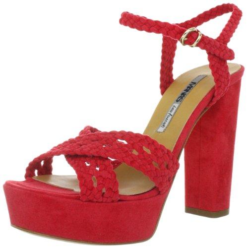 Manas portofino 121L5811CM, Sandales femme Rouge-TR-SW101