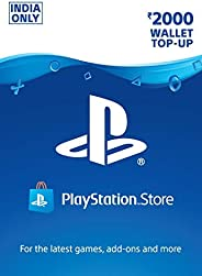 Rs.2000 Sony PlayStation Network Wallet Top-Up (Code - Pay On Delivery Available)
