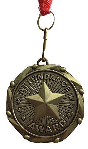 Emblems-Gifts Personalisierte Schulen Teilnahme Award Medal mit Band