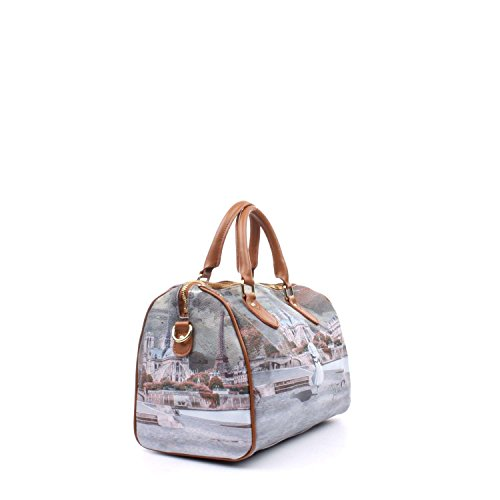 Bauletto Y Not i 318 stampa Parigi MAD Multicolor