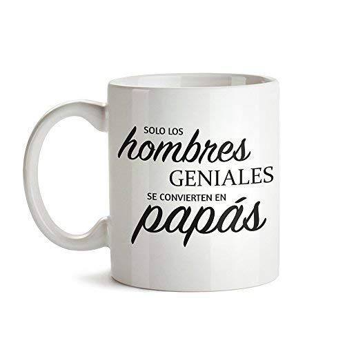 Tassenwerk Taza de Café Blanca con Mensaje - Taza de Graduación para Papás - Taza de Café como Idea para el Día del Padre - Regalo Ideal para Papás Primerizos - Obsequios para Hombres