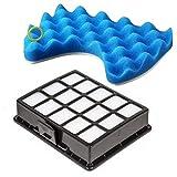 ECYC Filtro per Aspirapolvere Set di Ricambi Kit Filtro in Spugna per Samsung DJ97-00492A SC6520 SC6530 / 40/50/60/70/80/90