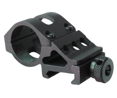 Global Olight M Series Offset Mount M Series Flashlight Offset Gun Mount, Black Standard Phone Mount