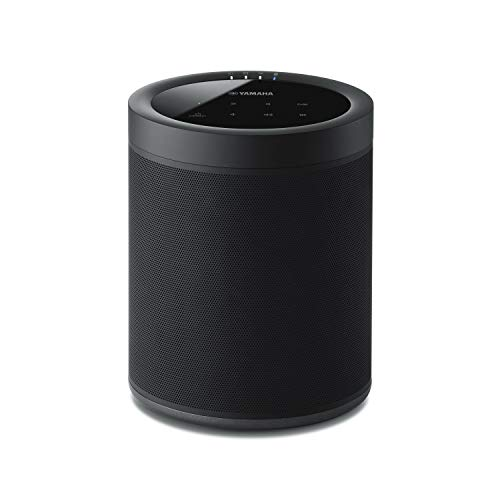 Yamaha MusicCast 20 Diffusore Bluetooth - Speaker wireless multi-room per l'ascolto di musica in streaming - WiFi dual band integrato, Bluetooth 4.2, design moderno, colore nero