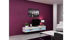 Bmf Vigo New Tv Unit In High Gloss - Tv Cabinet - Colour Combinations - 180cm Wide