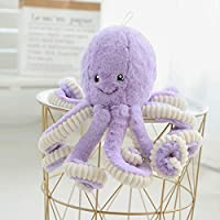 Giant Octopus Plush, Stuffed Animals Realistic Cuddly Soft Plush Toys Ocean Animal Toys Sea Party Favors Birthday Gifts for Kids Children Boys Girls and Home Decor, 15.7 inch