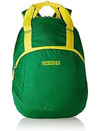 American Tourister 13 Ltrs Green Backpack (Flint Backpack 01)