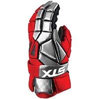 STX Lacrosse sombra guantes, hombre, rojo
